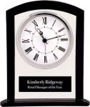 Black/Clear Square Arch Glass Clock Arch Awards