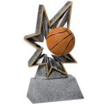 Bobble Resin -Basketball BR Resin Trophy Awards