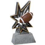 Bobble Resin -Football BR Resin Trophy Awards