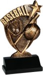 Broadcast Resin -Baseball Broadcast Resin Trophy Awards