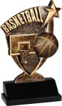 Broadcast Resin -Basketball Broadcast Resin Trophy Awards