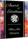 Watercolor Acrylic Plaque with Easel/Hanger Colored Acrylic Awards