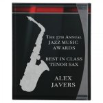 Lustre Acrylic Plaque Colored Acrylic Awards