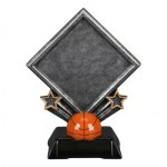 Diamond Resin -Basketball Diamond Resin Trophy Awards