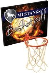 Basketball Plaque with Rim and Net Game Gifts