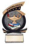 Gold Star Award -Knowledge Gold Star Resin Trophy Awards