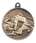 High Relief Medal -Football High Relief Medallion Awards
