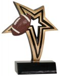 Football Infinity Star Resin Infinity Star Resin Trophy Awards