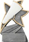 Jazz Star Resin -Cheer Jazz Star Resin Trophy Awards