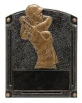 Legends of Fame Award -Golf Female Legends of Fame Resin Trophy Awards