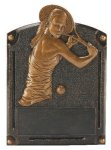 Legends of Fame Award -Tennis Female Legends of Fame Resin Trophy Awards