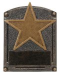 Legends of Fame Award -Star Blank Legends of Fame Resin Trophy Awards