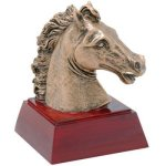 Resin Sculptures -Horse  Mascot Resin Trophy Awards