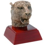 Resin Sculptures -Panther/Jaguar  Mascot Resin Trophy Awards