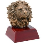 Resin Sculptures -Lion  Mascot Resin Trophy Awards