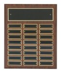 Cherry Finish Perpetual Plaques Medium Perpetual Plaques