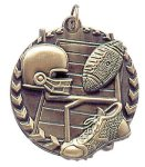 Millennium Medal -Football  Millennium Medallion Awards