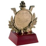 Resin Sculptures -Victory 2 Insert Holder  Mini-Series Resin Trophy Awards