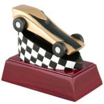 Pinewood Derby Resin Mini-Series Resin Trophy Awards