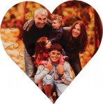 Heart Shaped Jigsaw Puzzle Misc. Gift Awards