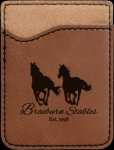 Leatherette Phone Wallet -Dark Brown Misc. Gift Awards