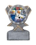 Action Sport -Mylar Holder Multi-Activity Mylar Resin Trophy Awards