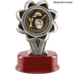 Resin Sculptures  -2 Insert Holder Multi-Activity Mylar Resin Trophy Awards