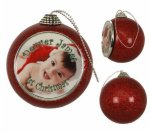 Red Glitter Ornament Ornaments
