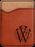 Leatherette Phone Wallet -Rawhide Phone & Tablet Cases