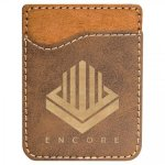 Leatherette Phone Wallet -Rustic/Gold Phone & Tablet Cases