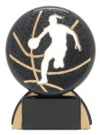 Shadow Sport Award -Basketball Female Shadow Sport Resin Trophy Awards