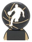 Shadow Sport Award -Basketball Male Shadow Sport Resin Trophy Awards