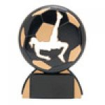 Shadow Sport Award -Soccer Female Shadow Sport Resin Trophy Awards