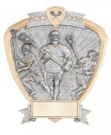 Signature Series Shield Award -Lacrosse Signature Shield Resin Trophy Awards