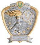 Signature Series Shield Award -Victory  Signature Shield Resin Trophy Awards