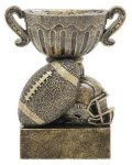 Sport Cup Antique Gold -Football Sport Cup Resin Trophy Awards