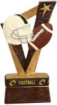 Trophy Band Resin -Football Sports Band Resin Trophy Awards