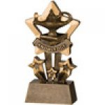 Star Resin Awards -Knowledge  Star Step Resin Trophy Awards