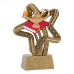 Stars and Stripes Resin Awards -Lamp of Knowledge Stars & Stripes Resin Trophy Awards