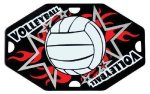 Street Tags -Volleyball Street Tag Gifts