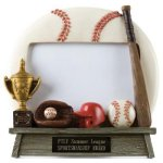 Photo Frame -Baseball Team Photo Frame Resin Trophy Awards