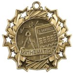 Ten Star Medal -Math Ten Star Medal Awards