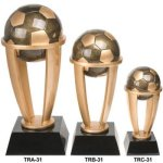 Tower Resins Awards -Soccer  Tower Resin Trophy Awards
