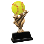 Tri Star Resin -Softball Tri-Star Resin Trophy Awards