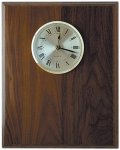 Genuine Walnut Clock Plaque Walnut Plaques