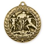 Wreath Medal -Triathon Wreath Antique Medal Awards