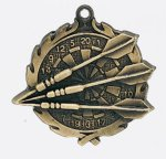 Wreath Medal -Dart Wreath Medal Awards